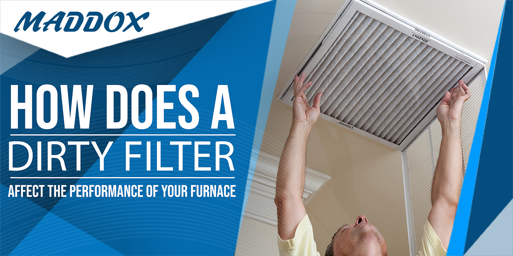 How Does a Dirty Filter Affect The Performance of Your Furnace