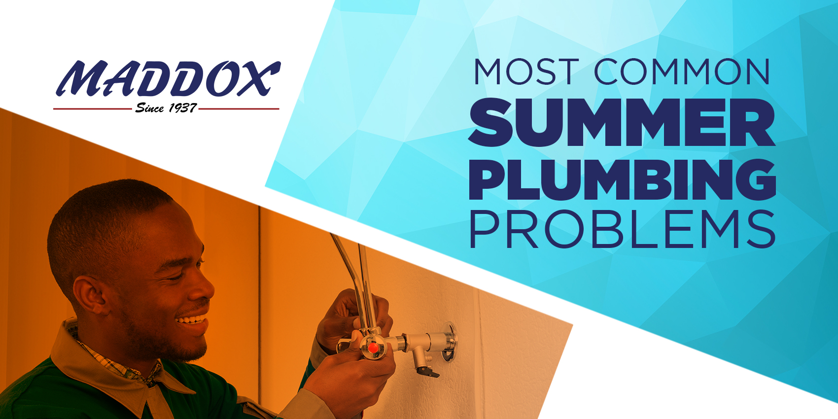 Most Common Summer Plumbing Problems